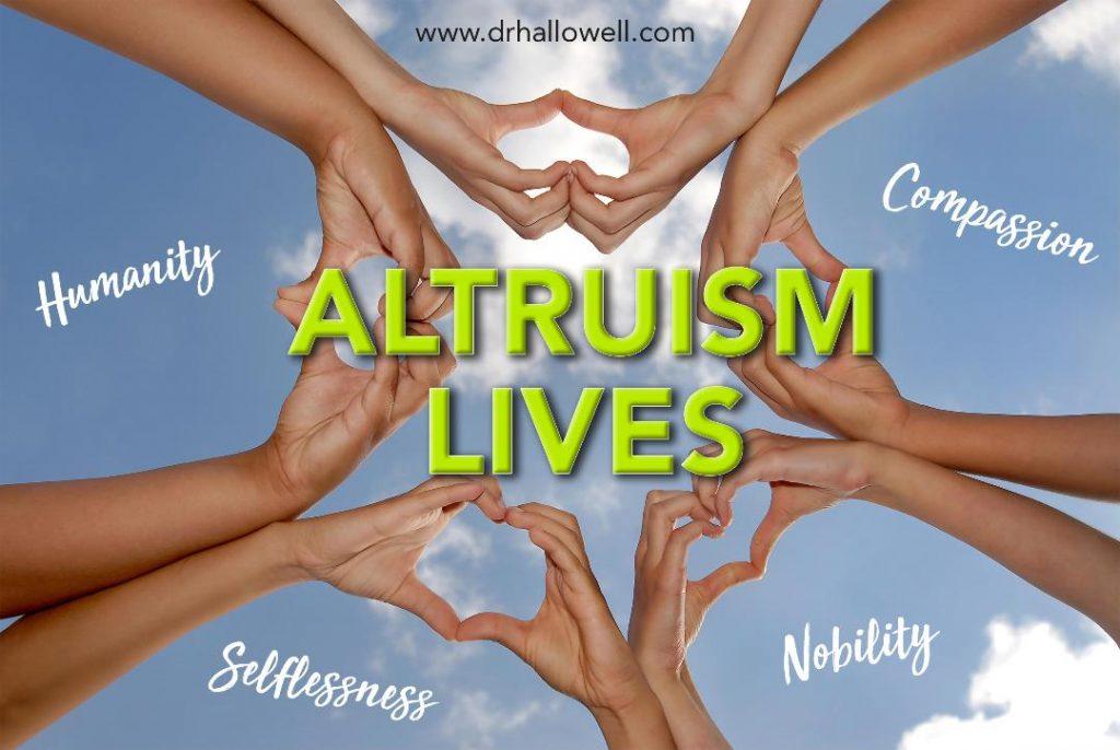 Altriusm Lives