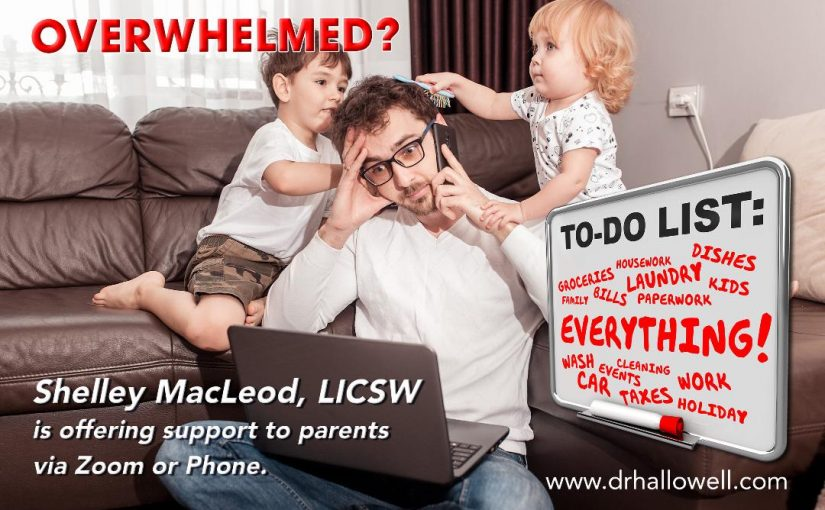 Support for Overwhelmed  Parents