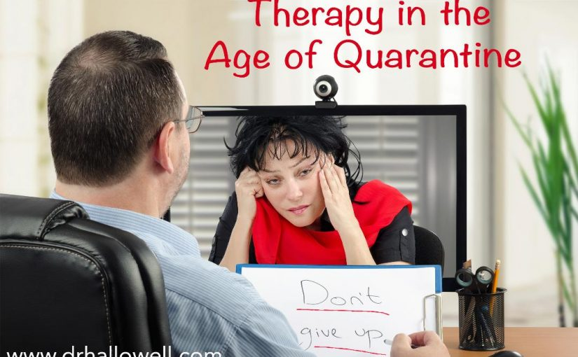 Therapy in the Age of Quarantine